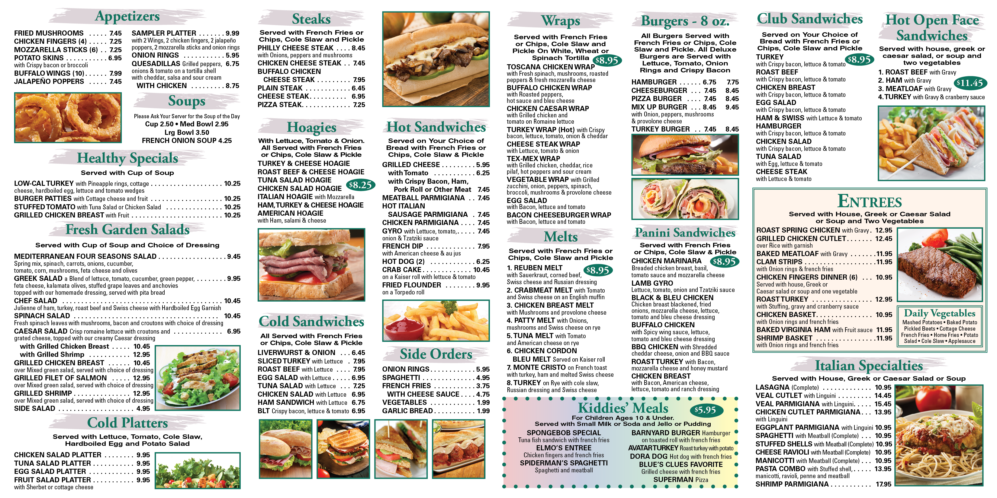 Image result for diner menu
